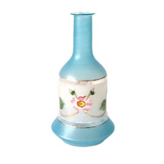 Karafka butelka ręcznie malowana biedermeier Retrogabinet