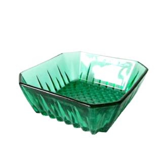 Miseczka zielone szkło Retrogabinet