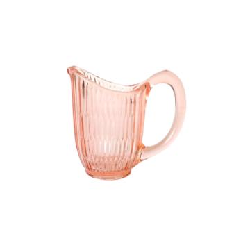 Mlecznik Szkło różowe retro vintage Retrogabinet