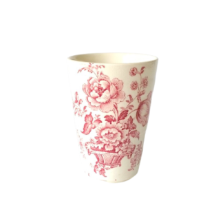 Kubek transferware ceramika Anglia rustykalny Retrogabinet